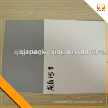 75mic grey and white PET AB film for label